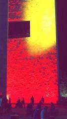 Fire Wall (willswinehart) Tags: art vivid color cincinnati blink