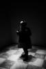 (willy vecchiato) Tags: biancoenero monocramatico mono monochrome blackandwhite blur grain street candid woman people future sci fi fantasy futuro conceptual concettuale abstract abstraction noir 2017 fuji