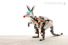 Kangaroo Mech (dvdliu) Tags: lego amoc moc creator 31034 animal creature mecha mech kangaroo