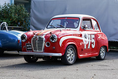 1956 Austin A30 (aguswiss1) Tags: 1956austina30 1956 austin a30 britishcar classiccar car switzerland redcar cute racer racecar