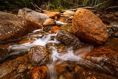 Nineteen Brook. White Mountain National Forest. (Vladimir Grablev) Tags: newengland nationalforest forest newhampshire longexposure naturephotography streams whitemountain rocks jackson unitedstates us