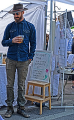 Hipster (tacosnachosburritos) Tags: 2017 renegade craft fair summer chicago neighborhood westtown wickerpark east village sexy hot gorgeous beautiful man guy woman girl chick lady milf humanity people shopping booth tent vendor artist artisan hipster trendy fashion winy city urban gritty thestreets street photography