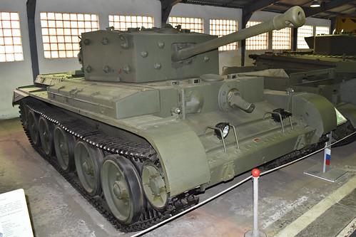A27M Cromwell IV at Kubinka Tank Museum