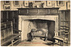 Norwich - Strangers' Hall Parlour (pepandtim) Tags: postcard old early nostalgia nostalgic uk great britain england interior norwich strangers hall parlour 1918 half penny rate raised war 1905 pencil 88nsh92 clock candlestick settle picture fireplace panelling chair tongs
