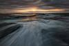 Shallow Overflow (Crouchy69) Tags: sunrise dawn landscape seascape ocean sea water coast clouds sky rocks flow motion turimetta beach sydney australia