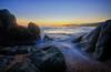 Sur La Plage... (Frosty__Seafire) Tags: plage beach sur la on the corse corsica d7000 nikon 1020 long exposure rocks tide wash france island med mediterranean sea sunset sun set seascape olmeto