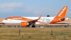 """G-UZHB easyJet Airbus A320-251N(WL) """"NEO"""" special colors (Nick Air Aviation Photography) Tags: img6550 guzhbeasyjetairbusa320251nwlneospecialcolors planespotting aviationphotography airbusa320neo milancityairportlin easyjet airliner travel depart aereoportolinate"""