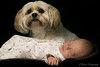 Keeping guard (RyanMorris_Photography) Tags: guard watch tired asleep love portrait girl family pet animal lhasaapso dog toddler offspring children child baby babyphotography elements