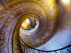 stairs (Steffi-Helene) Tags: kloster treppen austria architecture stift wachau stein