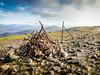 The summit cairn on Meall Garbh (David McSporran) Tags: carngorm meallgarbh carnmairg meallnaaighean glenlyon northchesthillestate munro munros scottishhighlands scotland scottishmountains hillwalking
