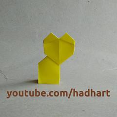Origami 🐈(Hadi Tahir) (haditahir) Tags: kissa kitten ucing macska gatto catus katze meow kitty γάτα ねこ kat silvestris mèo gato قط miau кошка katt tutorial origami kucing felis chat кот 貓 고양이 cat оригами 折り紙 papiroflexia paperfolding paper kertas