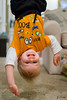 Hanging Out (zachary.locks) Tags: 52frames boy down halloween hanging happy inverted jack laughing out playing smile smiling son toddler upside zlocks
