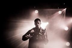 Ninkasi (Renaud Alouche) Tags: loyle carner hiphop hip hop rap live concert sepia monochrome color colors lights light spot nikon love like contrast music musique sing silhouette d750 lyon monlyon ninkasi spotlight man yong men singer mic uk manchester scene