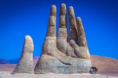 The mano del desierto.