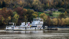 M/V Lee Synnott (jimross90) Tags: ohioriver towboat leesynnott ingram lawrencecounty autumn fall coal tow barges