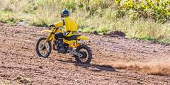 Thor's Yamaha (John Kocijanski) Tags: yamahayz400 motorcycle yellow dirtbike hillclimb monoshock vehicle race sport racer rider people canon70300mmllens canon7d