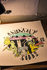 anomaly friends (Joey Howell) Tags: anomaly goods co joey howell art friends alien dog triangle square leroy ruler pencil hand mountains sky monster plants