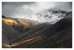 Scafell Pike - In Explore (Dave Fieldhouse Photography) Tags: scafell scafellpike lakedistrict nationalpark mountains mountain cumbria cumbrianmountains snow light dramaticlight weather storm winter landscape outdoors countryside fuji fujifilm fujixt2 wwwdavefieldhousephotographycom rocks waterfall shadows walkers climbers drystonewall