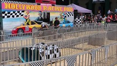 Hollywood Racing Pigs (demeeschter) Tags: usa new york state fair syracuse city town attraction market games rides livestock animals farm food show