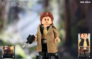Custom LEGO Star Wars: Return of the Jedi   Han Solo