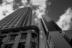DSC00790 (Damir Govorcin Photography) Tags: sky clouds monochrome blackwhite wide angle sony a7ii zeiss 1635mm sydney cbd natural light
