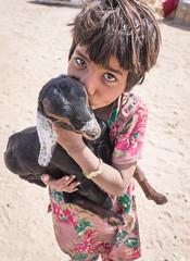 Rajasthan - Jaisalmer - Desert Safari traditional villiage-3