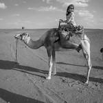 Erg Chebbi. Merzouga, Moroccan Sahara Desert.
