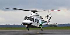DUBAI AIR WING DU-141 NEWCASTLE (toowoomba surfer) Tags: helicopter aviation ncl egnt