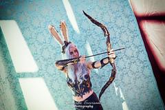 A lovely FFXII Fran Cosplay 1 (Riccardo Trevisan) Tags: ffxii fran viera booty breast sexy bowandarrow aiming cosplay nerdy