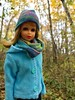 Walk in the woods (Foxy Belle) Tags: francie doll mod barbie cousin outside fall autumn cold weather hat scarf jacket casual handmade sew make vintage woods trees