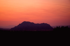 Spanish Sunset (simononeill1971) Tags: spain sunset mountain sierra europe redsky sundown landscape photography beautifulsunset holiday travel vacation algorfa