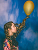 Up (Jesus Solana Poegraphy) Tags: up balloon yellow curls hair beauty