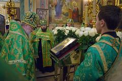 Вечерняя молитва накануне именин Правящего архиерея_23_ 02,11,2017