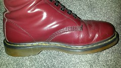 20170301_175445 (rugby#9) Tags: drmartens boots icon size 7 eyelets doc docs doctormarten martens air wair airwair bouncing soles original 14 hole lace docmartens dms cushion sole yellow stitching yellowstitching dr comfort cushioned wear feet dm 14hole cherry indoor 1914 boot footwear shoe