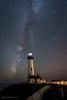 Orionid meteor shower  獵戶座流星 (FollowingNature (Yao Liu)) Tags: orionidmeteorshower 獵戶座流星 pigeonpointlighthouse sanmateocounty california followingnature milkyway meteorshower starts