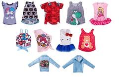 2018 Barbie Liscensed Fashion Separates (Christo3furr) Tags: barbie mattel fashion doll clothes set separates sanrio nintendo carebear