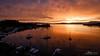 KVARNER BAY SUNSET (zkapov1) Tags: croatia carovo kraljevica adriatic hdr longexposure sunset orange boats sailingboat bay seascape reflections sea harbour jetty berth calm fujixt2 xf1024 clouds
