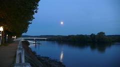 Oissel -  Reflet de Lune (jeanlouisallix) Tags: oissel seine maritime haute normandie france fleuve rivière soleil cours deau nature berges reflets panorama paysage landscape rviver automne lune