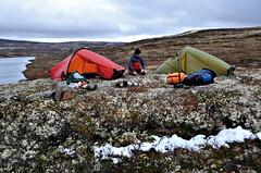 """""""Base Camp"""" Langvatnet"""