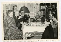 . (Kaïopai°) Tags: 1950er 1950s sylvester häusser ilmenau manebach party feier fete fest saufen trinken prost prosit familie family vintage glasses brille verkleidung