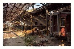 Inoperative (Marcos Jerlich) Tags: locomotive abandoned train garage scenery sunlight light shadow october flickr 7dwf colorful brasil jundiaí américadosul canon canont5i canon700d efs1855mm marcosjerlich