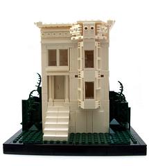 Victorian III (Razzle Jazzle) Tags: exterior modular architecture victorian sf queenanne lego moc