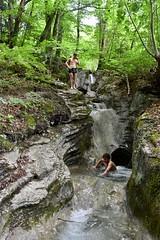 Waterval bij Schluchtenweg