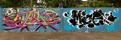 Kezam x Mice (kezam) Tags: kezam kzm kezamone btcrew bronxteam mice auckland newzealand graffiti flickrgraffiti 3dgraffiti productions ironlak outdoors mural art streetart