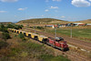 Consist 25 (Krali Mirko) Tags: bdz nric diesel locomotive freight service ballas train faur 55 ldh 55137 bulgarovo bulgaria railway ballast бдж нкжи влак локомотив дизел българово каменникариери