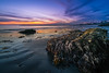 Corona Del Mar State Beach Sunset (meeyak) Tags: lowtide ocean beach water sea rocks cdm coronadelmar newportbeach westcoast oc orangecounty california southerncalifornia usa landscape seascape sunset night dusk meeyak sony a7r2 zeiss batis 18mm fall outdoors adventure vacation travel clouds sky nature