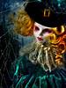 Enters the dark shadows of the night (NylonBleu) Tags: monster high mh custom repaint nylonbleu halloween
