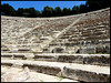 Stairs for Days (Aviva B) Tags: greece vacation europe 2017 tourism monument marble architecture ancient classic peloponnese mythology greek minor restorations it was the theatre epidaurus is preserved almost intact our day with built beginning famous its perfect acoustics where even slightest sound like dropping pin stairs