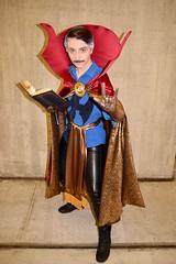 DSC_0768 (Randsom) Tags: newyorkcomiccon 2017 october7 nycc comic convention costume nyc javitscenter marvel superhero marveluniverse avengers doctorstrange drstrange mustache cape magic defenders mystic book cosplay