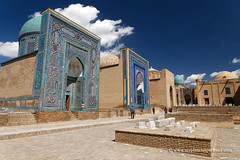 Uzbekistan (My Planet Experience) Tags: samarkand samarqand shahizinda necropolis mausoleum tomb blue mosaic tamerlane timur temurid unesco architecture silk road route central asia oʻzbekiston узбекистан uz uzbekistan ouzbékistan myplanetexperience wwwmyplanetexperiencecom